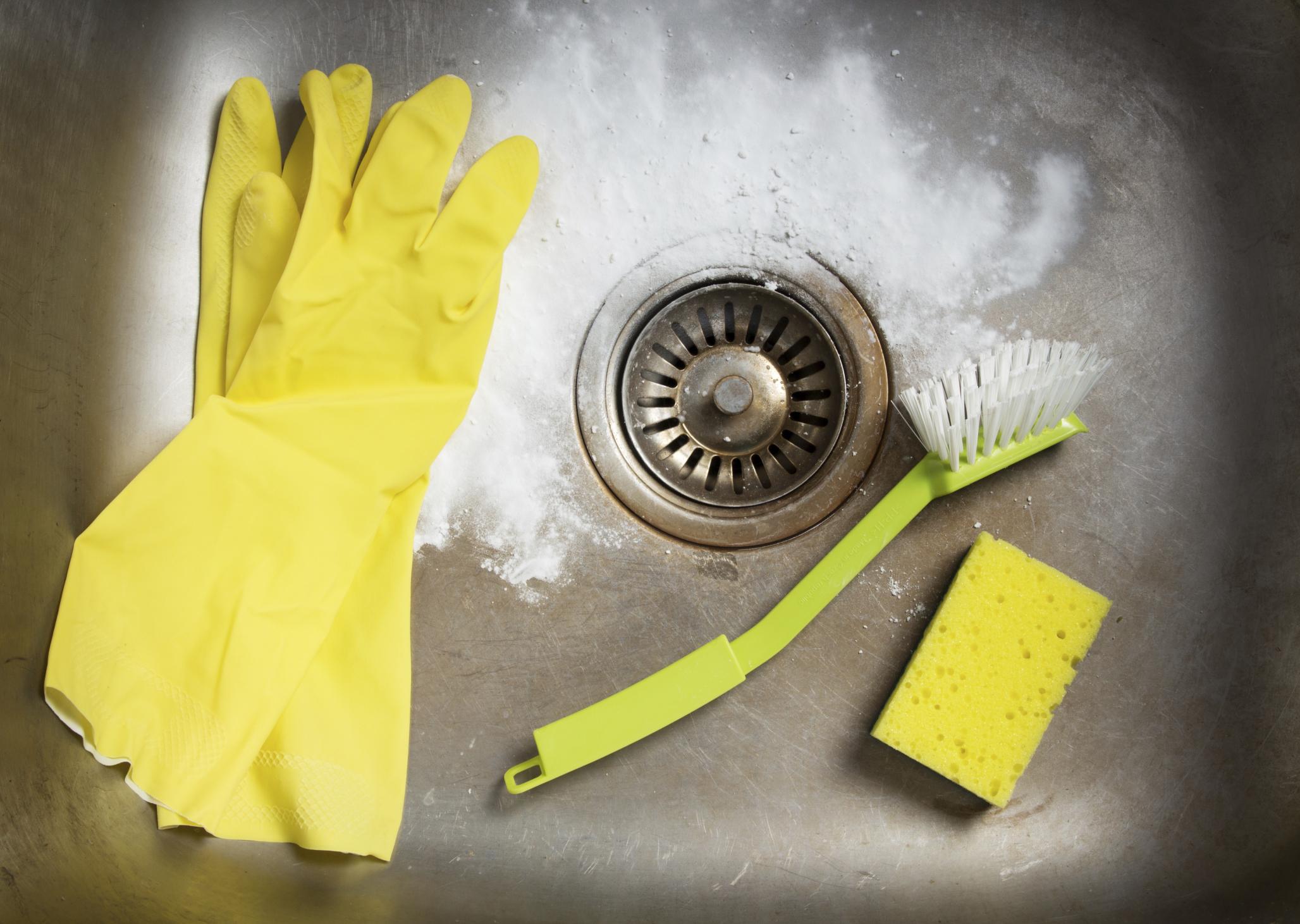 comment déboucher un évier avec du bicarbonate de soude - odébouchage